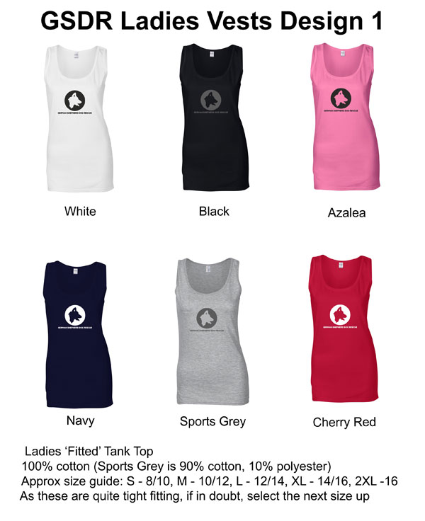 Ladies Vest Design 1