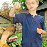 GSD Helps Aspergers Syndrome Boy