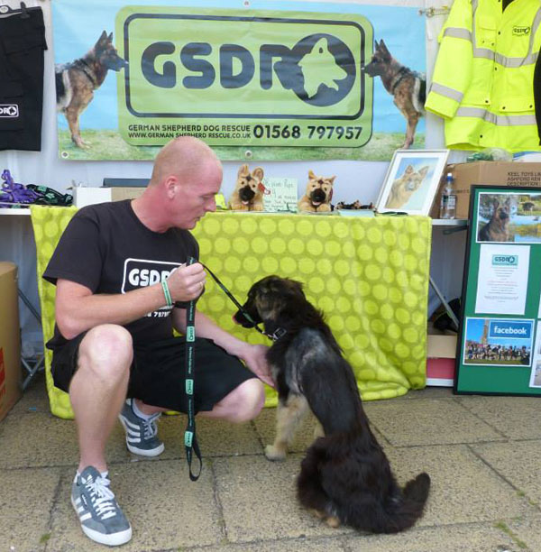 coco at her first fundraising event in Rhyl