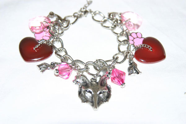 hand crafted jewellery made for german shepherd dog rescue
