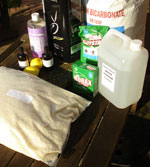 natural green cleaning and washing products, much safer for your pets