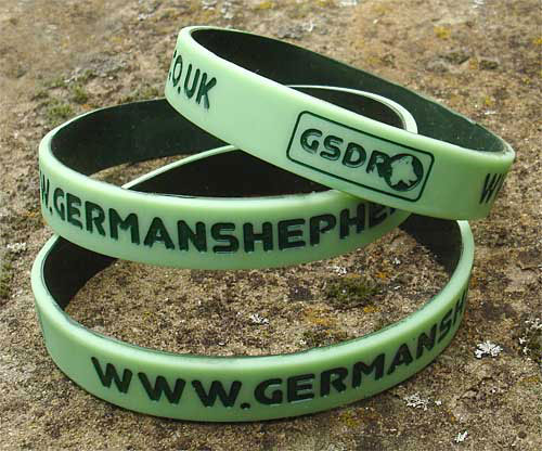 german shepherd dog wristband