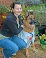 Louise runs St Albans half marathon for GSRescue
