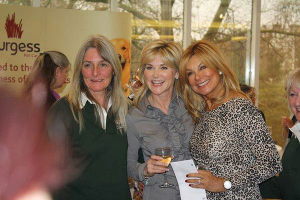 Jayne, Anthea Turner and Jilly Johnson