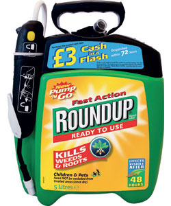 glyphosate known round up - toxic weedkiller