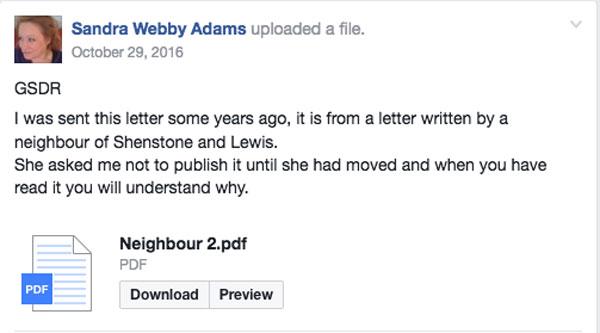 Malicious letter Meg Potter Holmer Vets Hereford